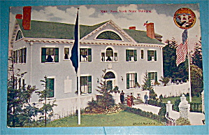 New York State Building Postcard (Yukon Pac Expo) (Image1)