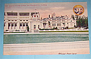 Oriental Foreign Exhibit & Manufacturers Bldg Postcard (Image1)