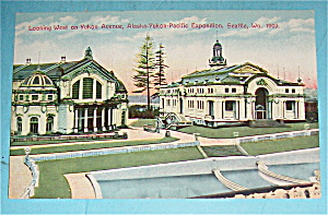 Looking West On Yukon Avenue Postcard (Yukon Expo)