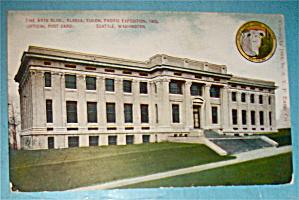 Fine Arts Building Postcard (Alaska Yukon Pac Expo) (Image1)