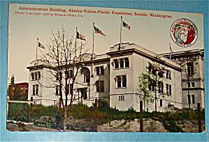 Administration Building Postcard-Alaska Yukon Pac Expo (Image1)