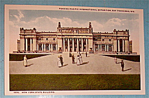 New York State Building Postcard (Panama Pacific Expo) (Image1)