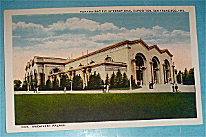Machinery Palace Postcard (Panama Pacific Exposition) (Image1)