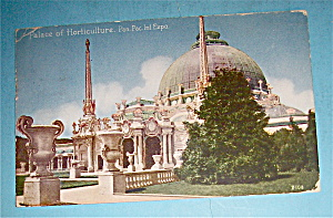 Palace Of Horticulture Postcard (Pan Pac Intl Expo) (Image1)