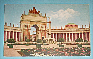Arch Of The Rising Sun Postcard (Panama Pac Expo) (Image1)