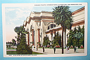 A Glimpse Of Machinery Palace Postcard (Pan Pac Expo) (Image1)