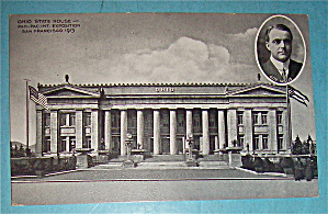 Ohio State House Postcard (Panama Pacific Intl Expo) (Image1)