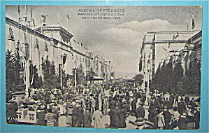 Avenue Of Progress Postcard (Panama Pacific Expo) (Image1)