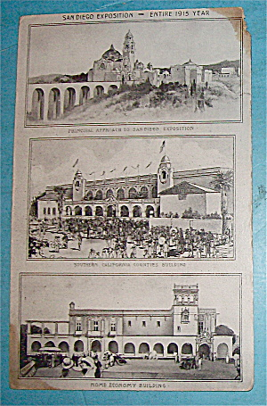 San Diego Exposition Postcard (Image1)