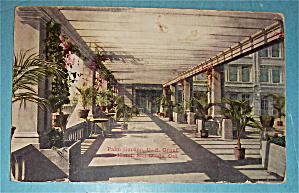 Palm Garden U.S. Grant Hotel Postcard (San Diego, Cal) (Image1)