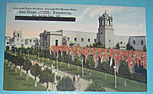 Arts & Crafts Building Postcard (Image1)