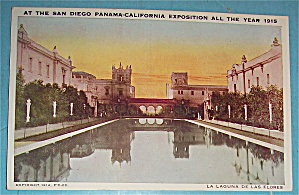 La Laguna De Las Flores Postcard (Image1)