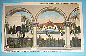 Botanical Building Postcard (Panama California Expo) (Image1)