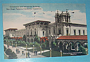 Commerce And Industries Building Postcard