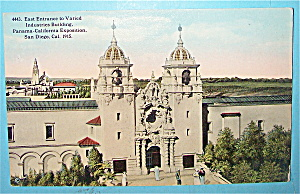 East Entrance To Varied Industries Building Postcard (Image1)