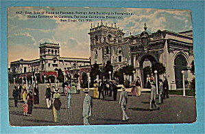 East Side Of Plaza De Panama Postcard (Image1)