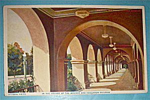 Arcade Of The Science And Education Building Postcard (Image1)