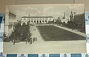 1915 Panama-California Expo Postcard-Plaza De Panama (Image1)