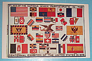 Flags Of The Nations Postcard (Image1)