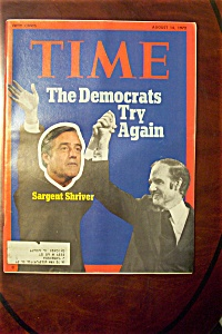 Time Magazine - August 14, 1972 - Sargent Shriver