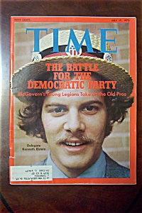 Time Magazine - July 17, 1972- Delegate Kenneth Elstein