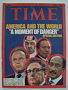 Time Magazine - April 7, 1975 - A Moment Of Danger