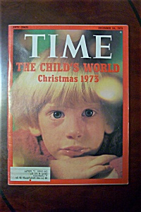 Time Magazine - December 24, 1973 - The Child's World