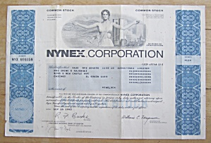 1979 Monarch Machine Tool Company Stock Certificate (Image1)