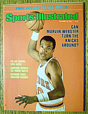 Sports Illustrated Magazine October 16, 1978 Marvin W. (Image1)