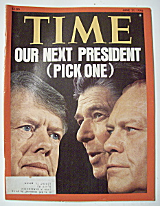 Time Magazine - June 21, 1976 - Our Next President