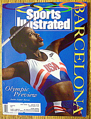 Sports Illustrated Magazine July 22, 1992 Jackie Kersee (Image1)