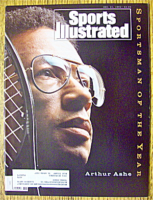 Sports Illustrated Magazine December 21, 1992 A. Ashe (Image1)
