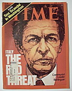 Time Magazine June 14, 1976 Communist Leader Berlinguer (Image1)