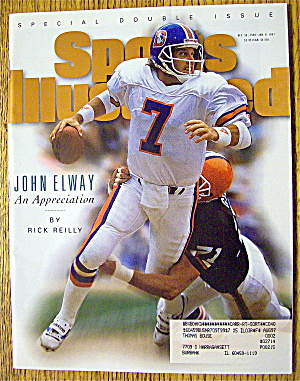 Sports Illustrated Magazine-1996-1997-John Elway (Image1)