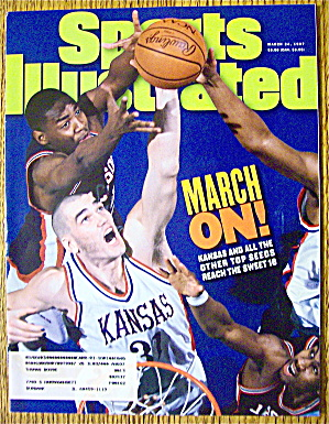 Sports Illustrated Magazine March 24, 1997 Kansas (Image1)