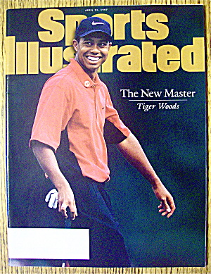 Sports Illustrated Magazine April 21, 1997 Tiger Woods (Image1)
