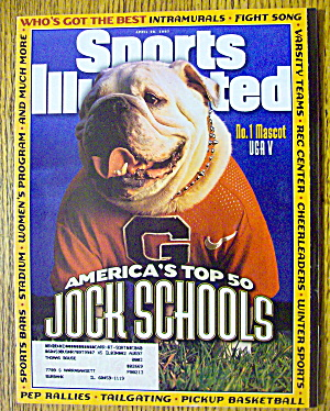 Sports Illustrated Magazine April 28, 1997 Jock Schools (Image1)