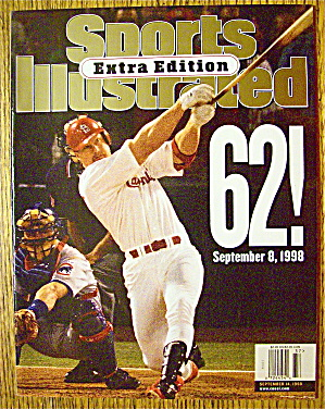 Sports Illustrated Magazine September 14, 1998 McGwire (Image1)