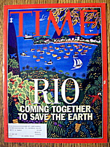 Time Magazine-june 1, 1992-rio
