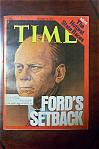 Time Magazine - October 18, 1976 - Ford's Setback