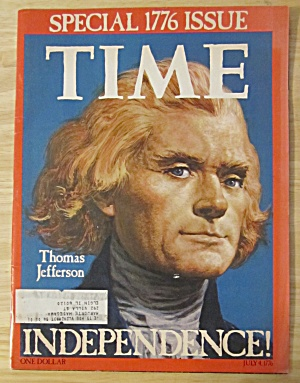 Time Magazine-1975-Thomas Jefferson(Special 1776 Issue) (Image1)