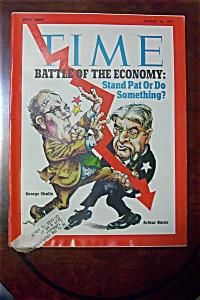 Time Magazine - Aug 16, 1971 - G  Shultz &  A  Burns (Image1)