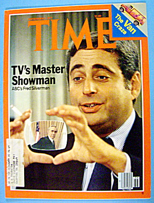 Time Magazine-september 5, 1977-abc's Fred Silverman