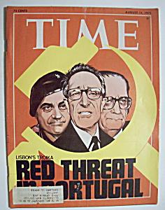 Time Magazine - August 11, 1975 - Lisbon's Troika (Image1)