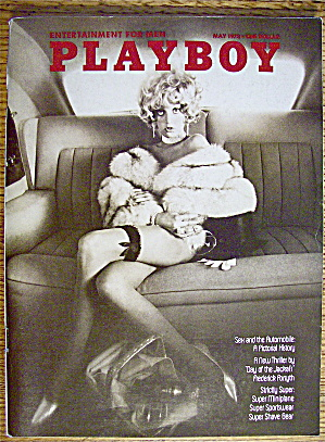 Playboy Magazine-may 1973-anulka Dziubinska