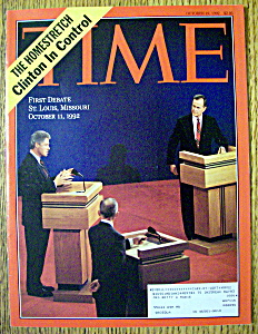 Time Magazine-october 19, 1992-first Debate