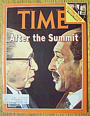 Time Magazine September 25, 1978 After The Summit