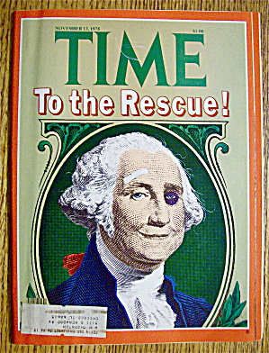 Time Magazine November 13, 1978 To The Rescue
