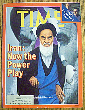 Time Magazine February 12, 1979 Ayatullah Khomeini