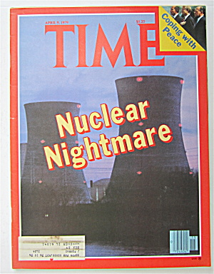 Time Magazine April 9, 1979 Nuclear Nightmare
